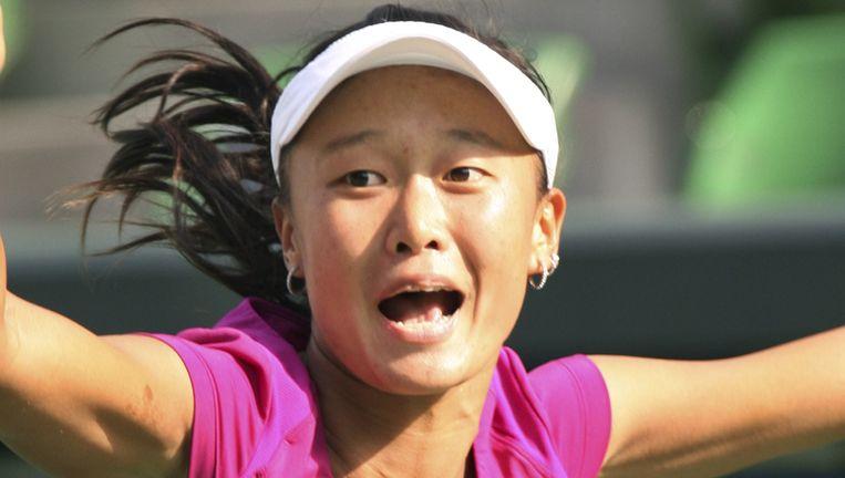 Chang kai-Chen was in drie sets te sterk voor de nummer 1 van de wereld. Beeld UNKNOWN