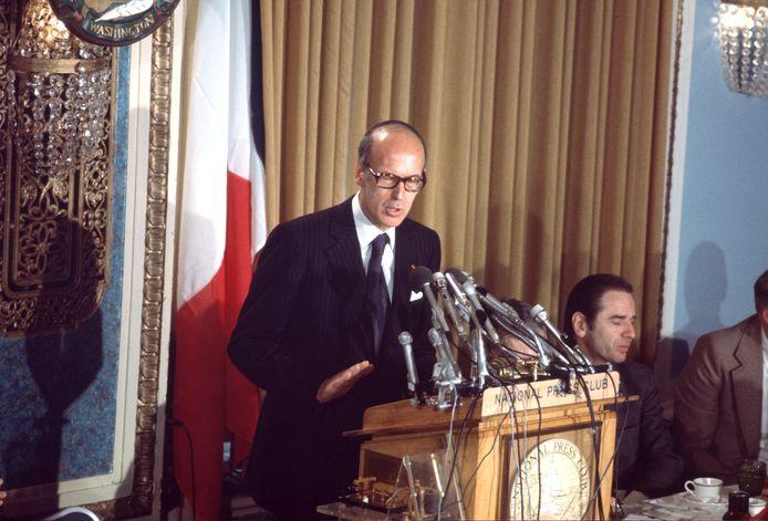 """VGE"" à Washington en 1976."