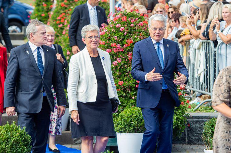 Ook Didier Reynders was van de partij.