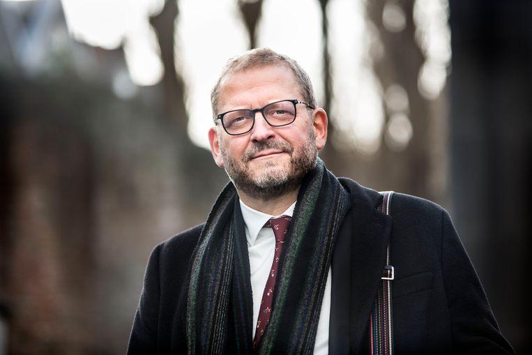 Emile Schrijver, directeur van het Nationaal Holocaust Museum in Amsterdam. Beeld Arie Kievit