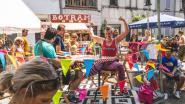 Heerlijk gek volksfeest op het Fonteineplein