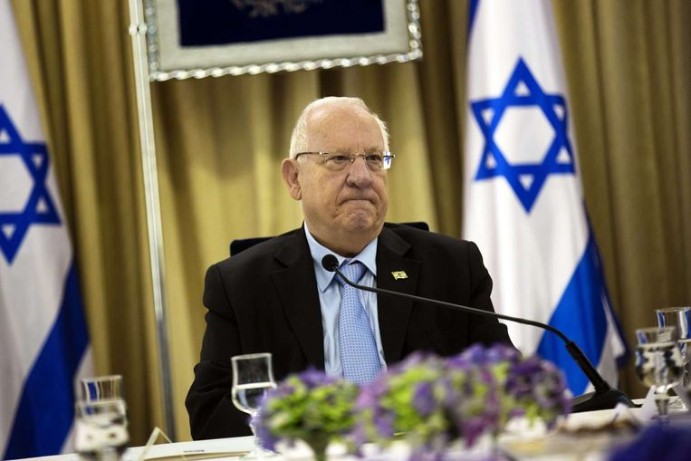 De Israëlische president Reuven Rivlin. Beeld afp