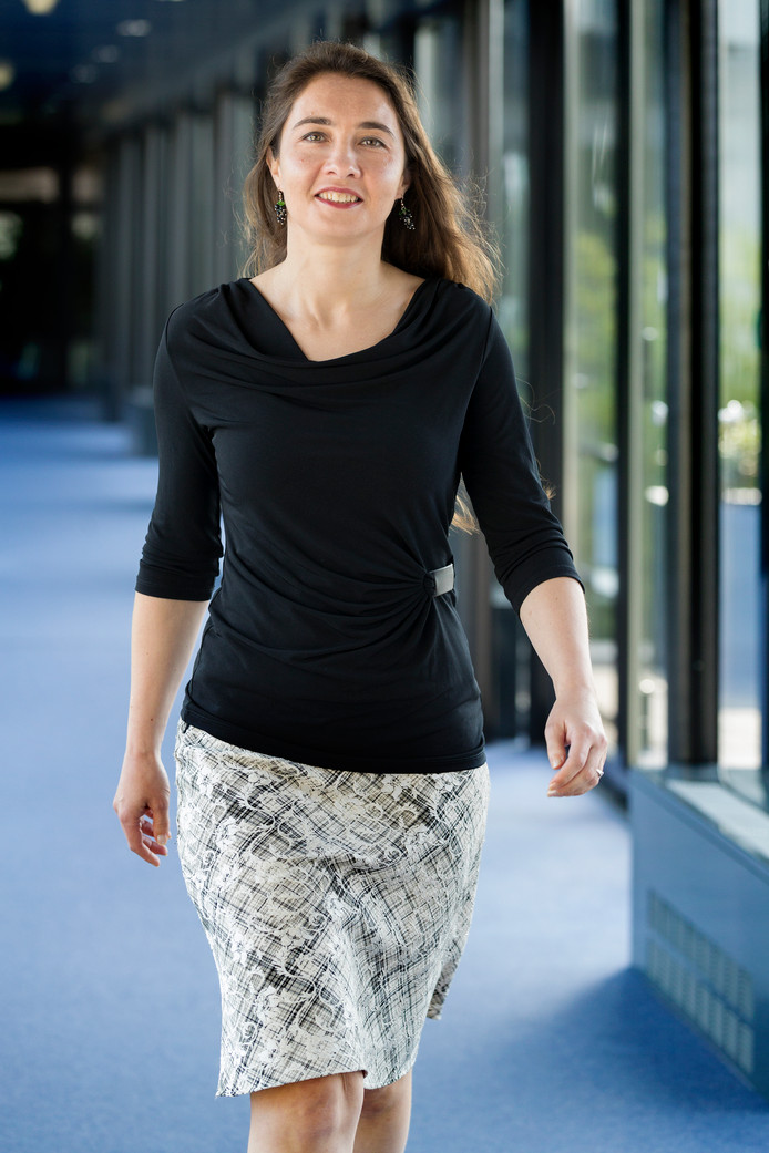 Anne-Marie Spierings (D66 - gedeputeerde Agrarische ontwikkeling, Energie en Bestuur).