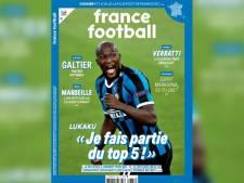 """Romelu Lukaku en Une de France Football: """"Je fais partie du top 5 des meilleurs buteurs du monde"""""""