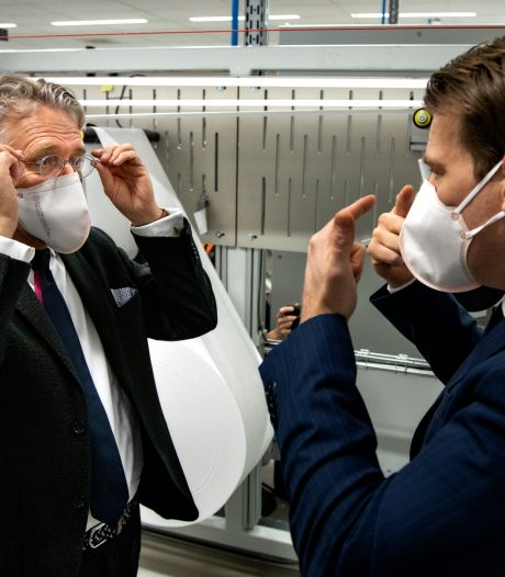 Medisch mondkapje van VDL is 'het beste', en straks ook voor de gewone man