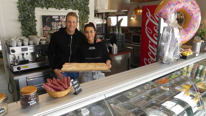 Lisa en Thibault openen broodjeszaak 't Smulderke in vroegere pand 't Zonnepitje