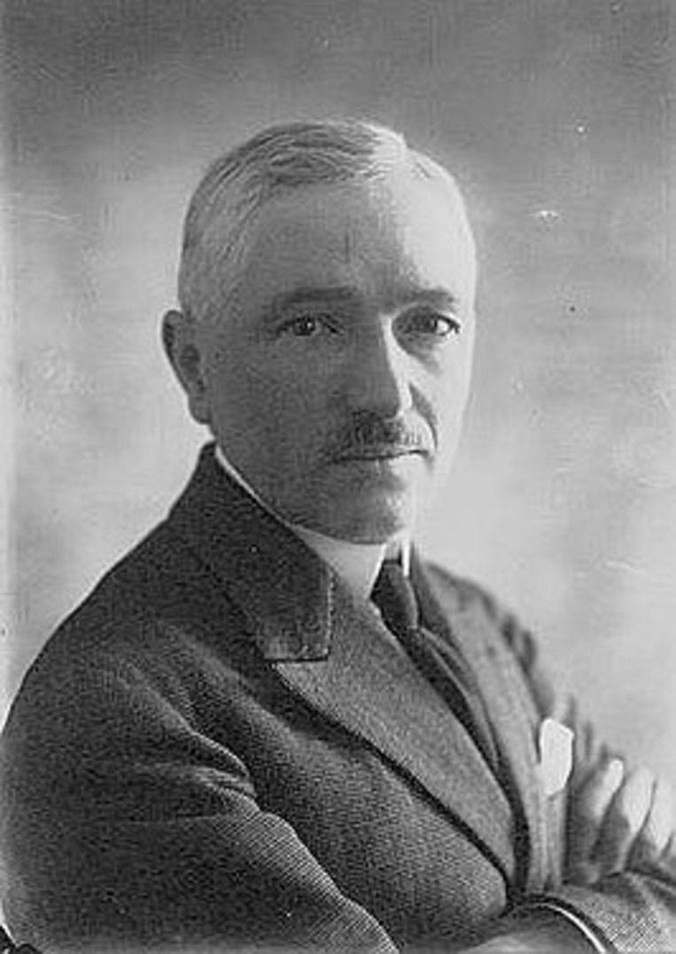 Kruidenierszoon Jules Rimet, uitvinder van het WK voetbal. Beeld rv