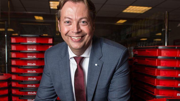 Marcel Huizing, formuledirecteur van Dirk Beeld Mats van Soolingen
