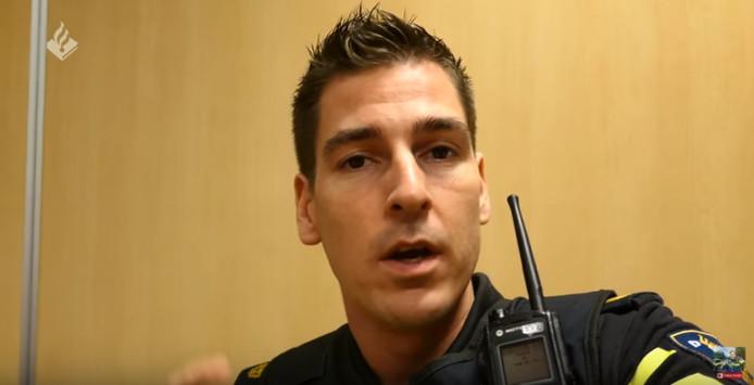 Politievlogger Jan-Willem.