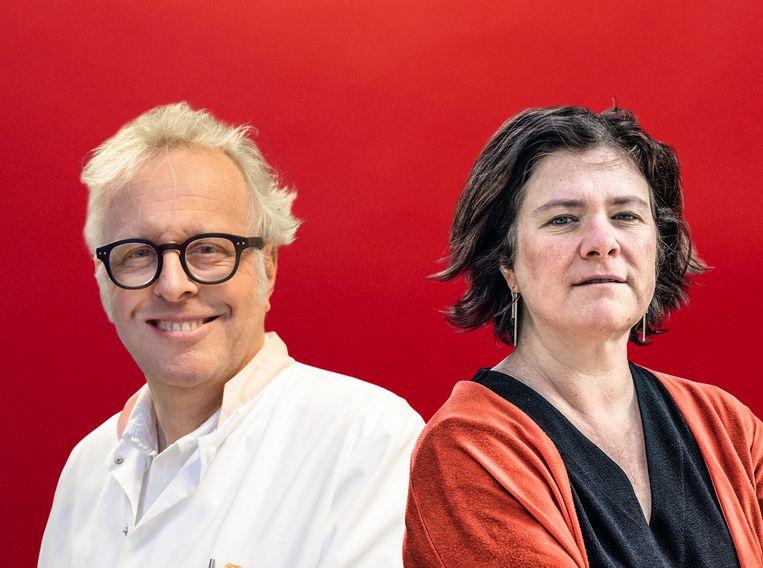 Hans Zaaijer en Margot Cloet. Beeld rv