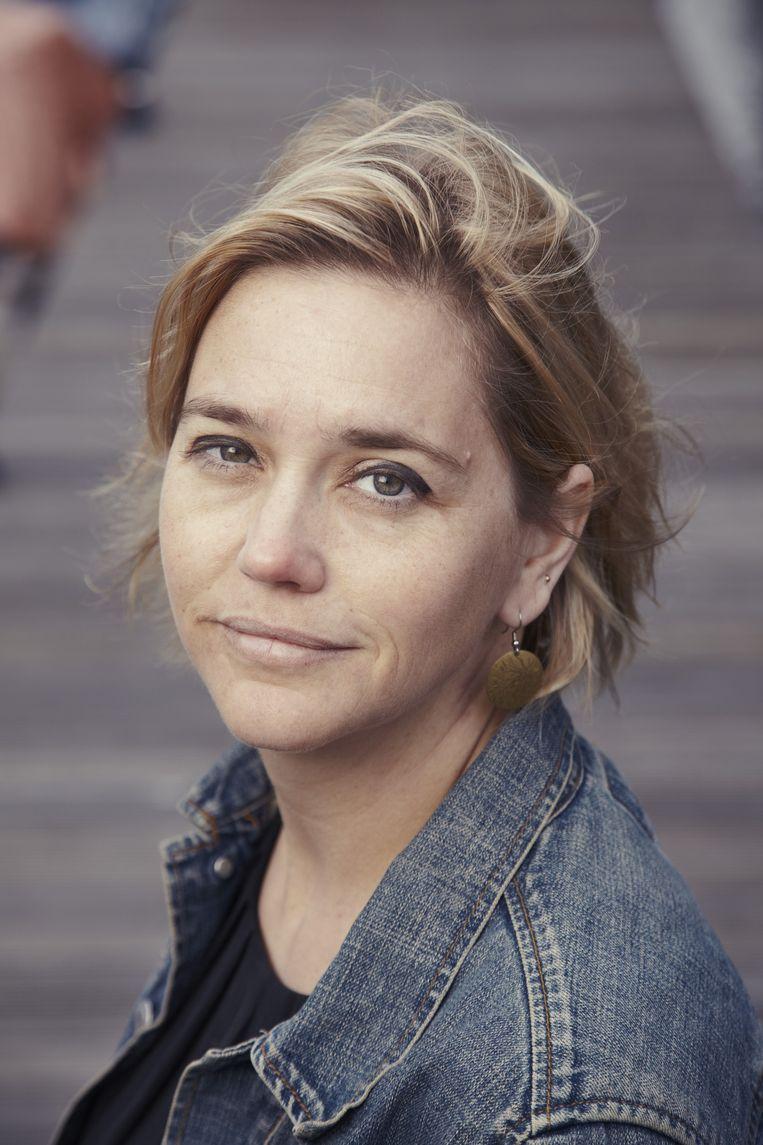 Portret van Stine Jensen. Beeld Frank Ruiter