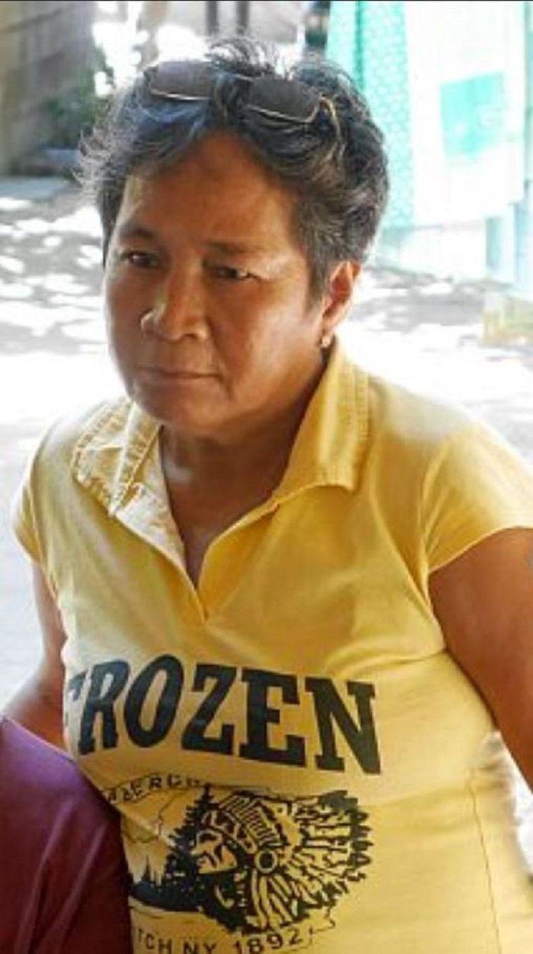 Gloria Capitan. Beeld Global Witness