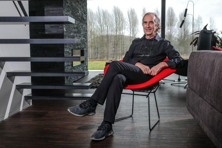 Gezondheidspsycholoog Omer Van den Bergh: 'Kookboekpsychologie bestaat niet.' Beeld Photo News