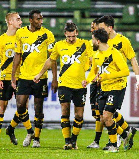 NAC wint moeizaam en legt druk bij Almere City, Jong PSV wint Brabantse derby