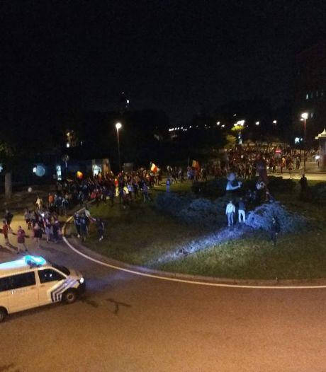 """Débordements à Charleroi après Belgique-Finlande: """"Des caddies lancés"""""""