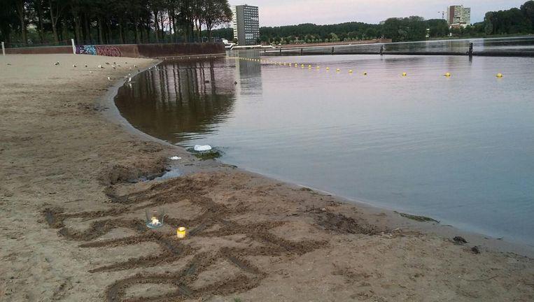 In de Sloterplas verdronk vorige week een 5-jarig meisje Beeld Hanneloes Pen