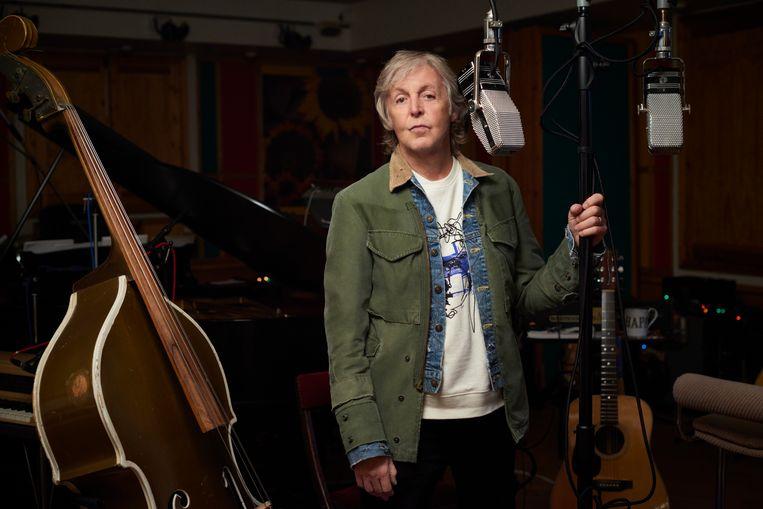 Paul McCartney: 'Ik kan me geen betere samenwerking voor de geest halen dan die met John, en er waren er miljoenen. Ik prijs me heel gelukkig.' Beeld Mary McCartney