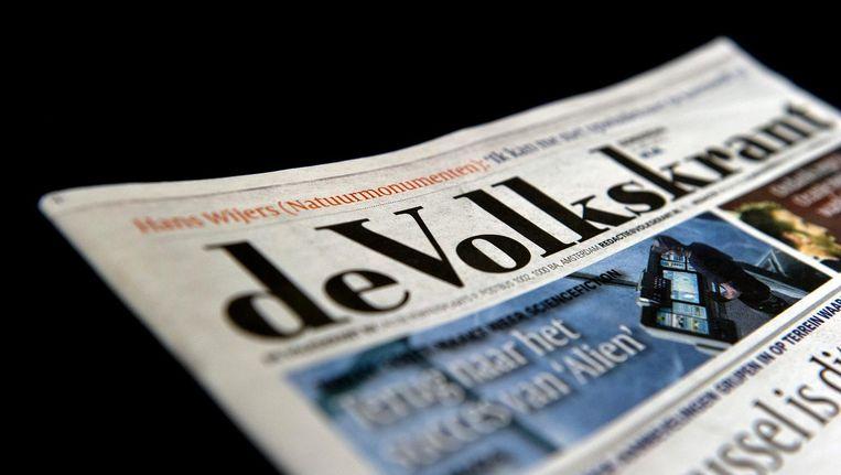 Literair criticus Arjan Peters werd vorige week door de Volkskrant op non-actief gesteld.  Beeld