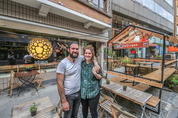 Café De Dingen in Kortrijk.