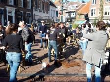 Terras Boerke Verschuren in Breda ontruimd, crowdfunding voor mogelijke boete