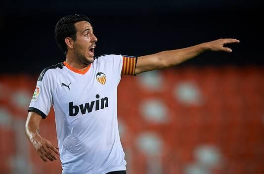 Dani Parejo, al jaren de aanvoerder van Valencia.