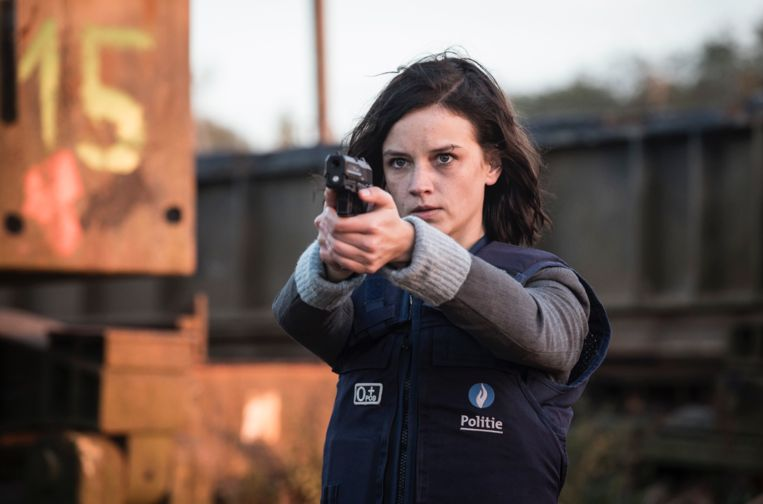 Lynn Van Royen speelt de hoofdrol in 'The Team 2'. Beeld Lumiere