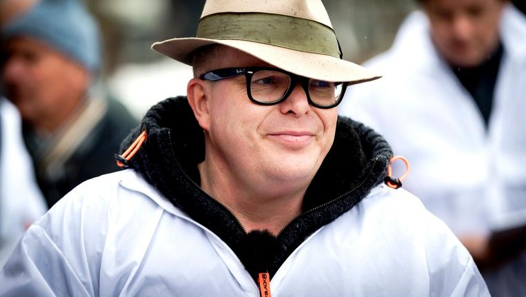 Jan Roos: 'Ik ben in cartoons meerdere keren als rat getekend. Mijn moeder heeft daar echt om gehuild' Beeld ANP