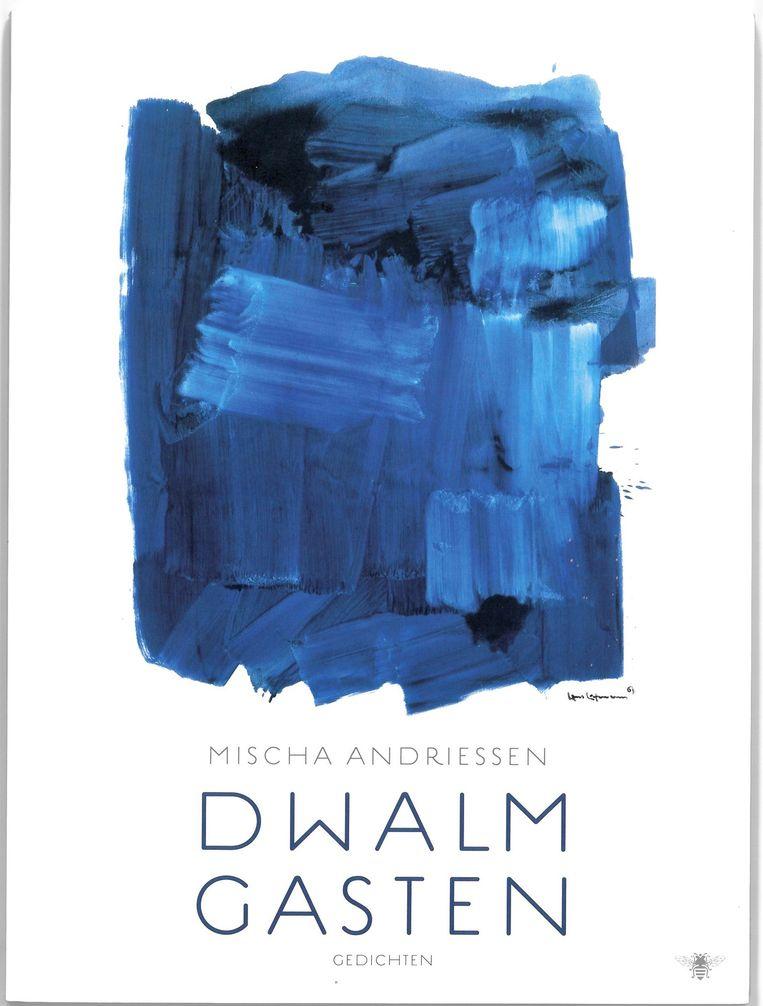 Ontwerp Nanja Toebak, illustratie Hans Hofmann: Blue Monolith, 1964. Beeld De Bezige Bij