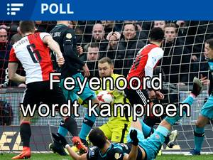 Sterk Feyenoord slaat PSV knockout in de titelrace