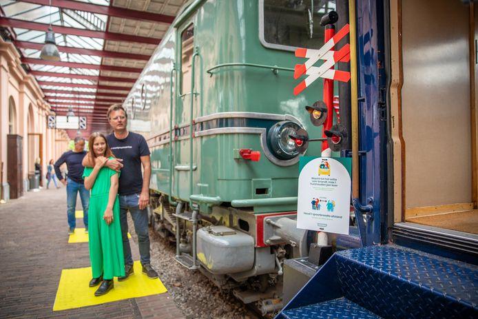 Op 1 juni gaan de deuren van het Spoorwegmuseum weer open.