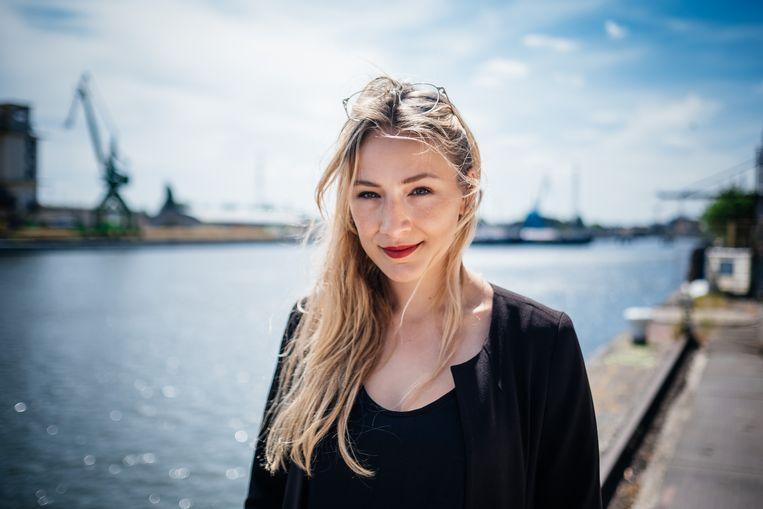 Ilona Lodewijckx, de mede-oprichtster van Fille Folle.  Beeld Wouter Van Vooren