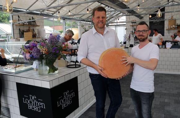 Gert Laurijssen en Yanniek Perron in Smaakhoeve De Lochtenberg
