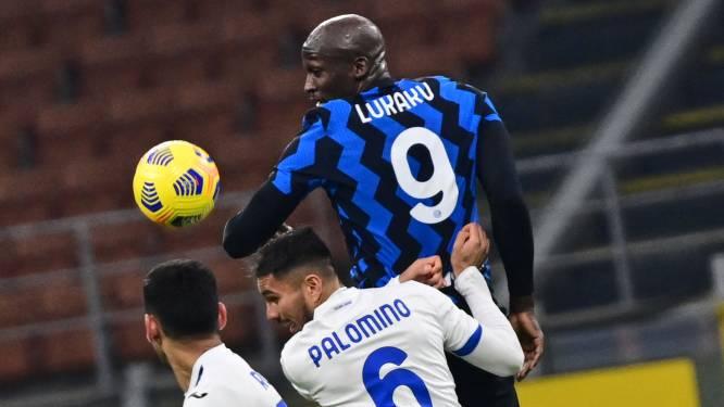 Lukaku ziet Skriniar scoren: Inter stap dichter bij Scudetto na zuinige zege tegen Atalanta