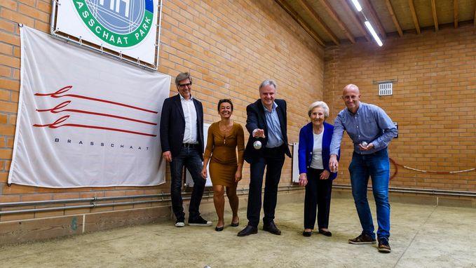Petanqueclub Hemelhof heeft nieuwe indoorhall