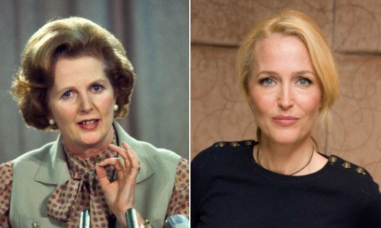 Wordt Gillian Anderson binnenkort Margaret Thatcher?