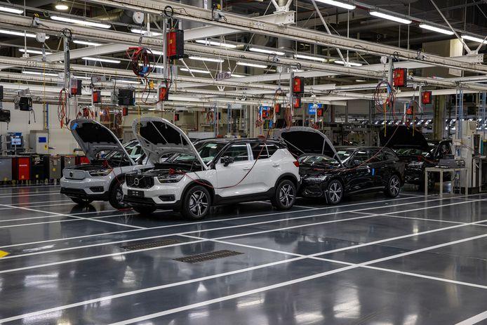 De Volvo Cars-fabriek in Gent