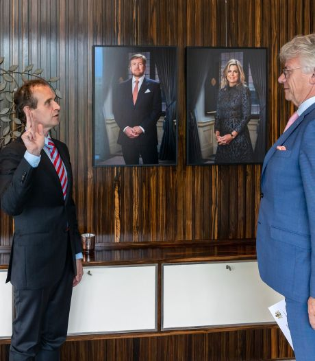 Mark Slinkman herbenoemd tot burgemeester van Berg en Dal