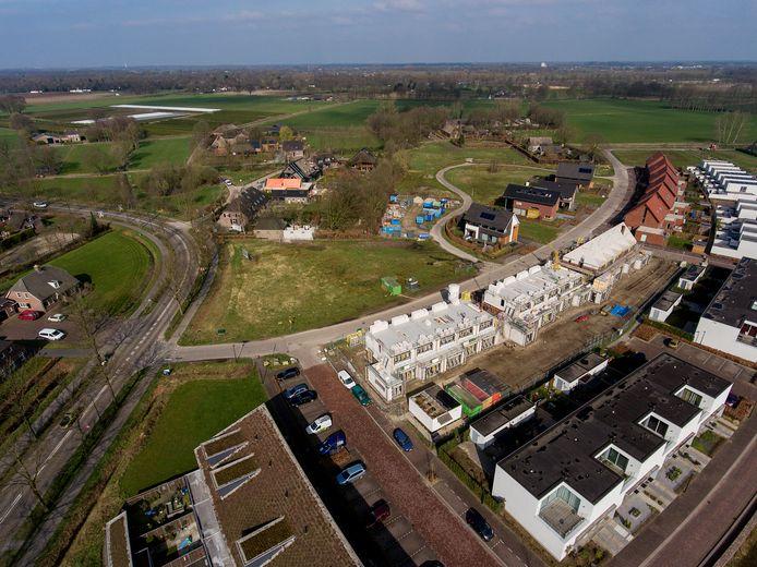 Uitbreiding van Pannenschuur in Oisterwijk, richting Heukelom, anno 2017