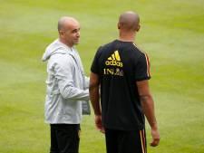 """Roberto Martinez, """"triste"""" et optimiste: """"Vincent fera un excellent coach"""""""