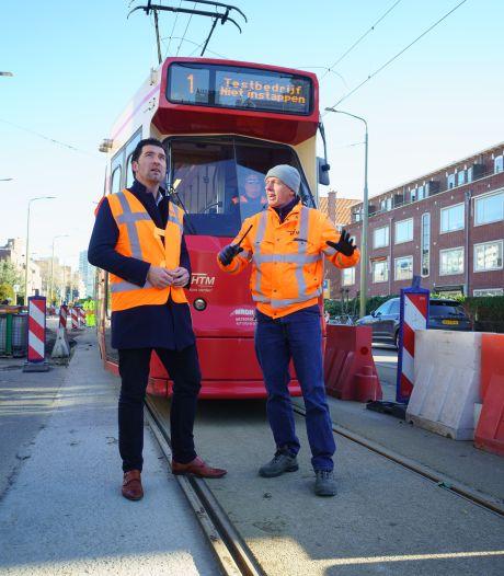 Nieuwe rails, nieuwe haltes en betere doorstroming: lijn 1 is klaar