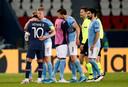 """Les médias anglais et français saluent la prestation de Kevin De Bruyne, """"sauveur"""" de Manchester City à Paris."""