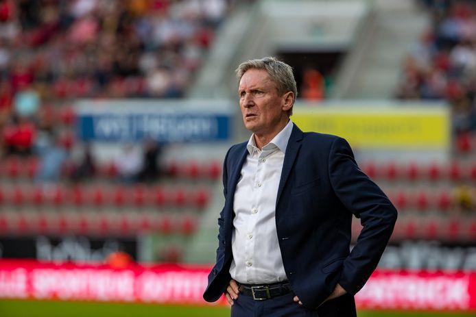L'entraîneur de Zulte Waregem, Francky Dury.