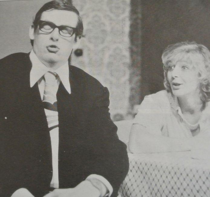 Walter De Donder als acteur bij Prutske, in het begin van de jaren '80.