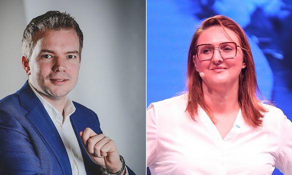Klaas Slootmans en Gwendolyn Rutten