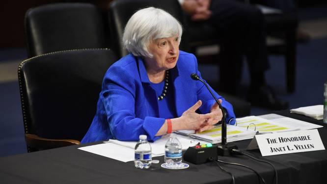 """Minister van Financiën VS: """"Bodem Amerikaanse schatkist in zicht"""""""