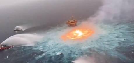 """La rupture d'un gazoduc provoque un """"oeil de feu"""" dans le Golfe du Mexique"""