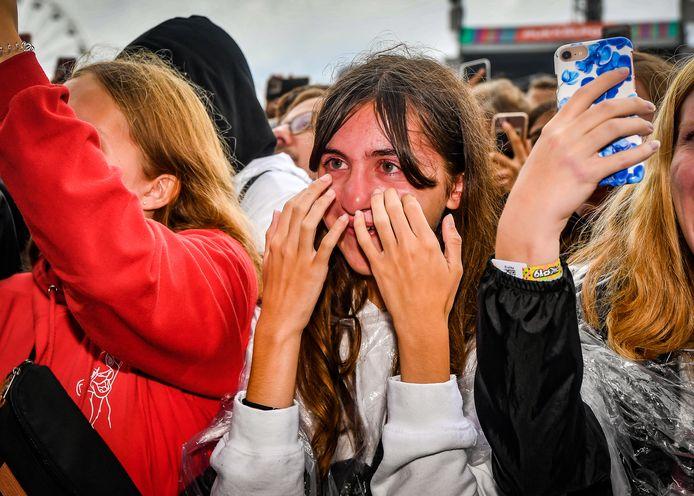Billie Eilish beroerte honderden, misschien wel duizenden tieners op de weide van Pukkelpop.