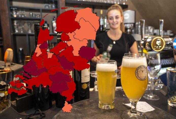 IJsselland is een van de zes regio's waar het risiconiveau nu op 'zorgelijk' staat.