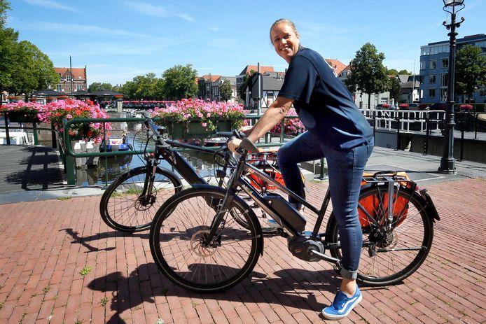 Gorcumers kunnen gratis een speed pedelec uitproberen. De fietsen staan klaar bij veerdienst Riveer.