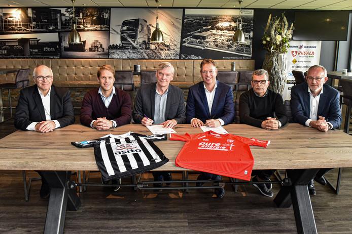 Heracles en FC Twente gaan samen met jeugdopleiding.